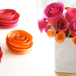 Easy DIY paper flowers