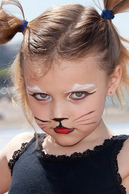 diy halloween face painting ideas for kids 2014. Black Bedroom Furniture Sets. Home Design Ideas
