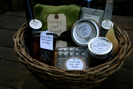Handmade mothers day gift baskets