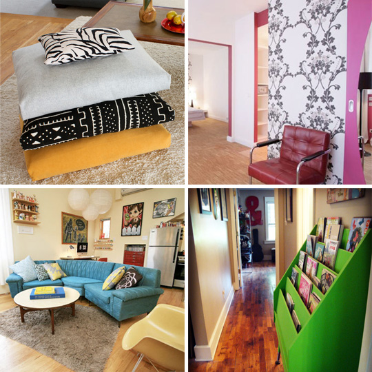 Apartment decorating ideas with low budget for Cheap diy home decor