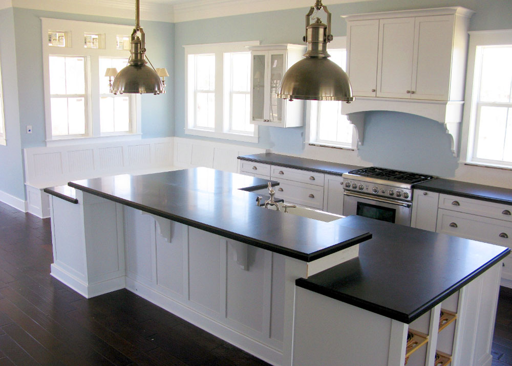 Black And White Country Kitchens