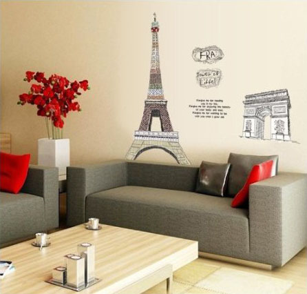 modern paris room decor ideas