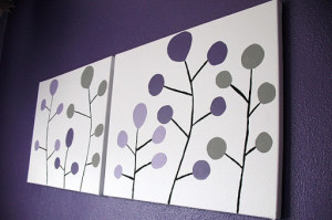 DIY easy home paintings