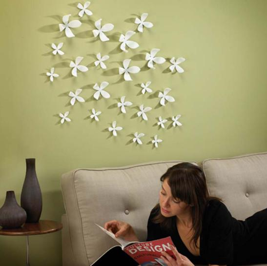 How to decorate your room walls with inexpensive things - How to decorate a living room wall ...