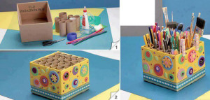 DIY kids pencil box