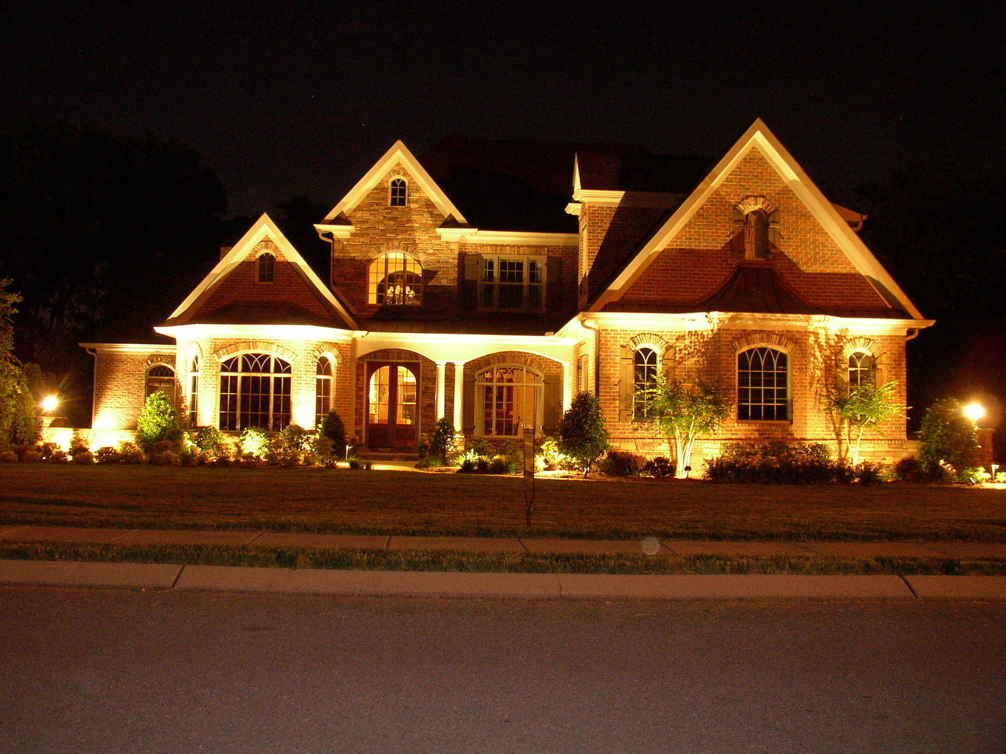 Decorative lights for home for Exterior lighting design