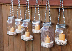 Easy DIY glass bottle crafts