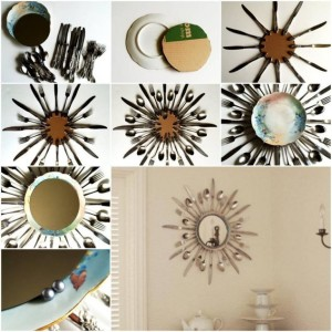 Easy DIY mirror frames