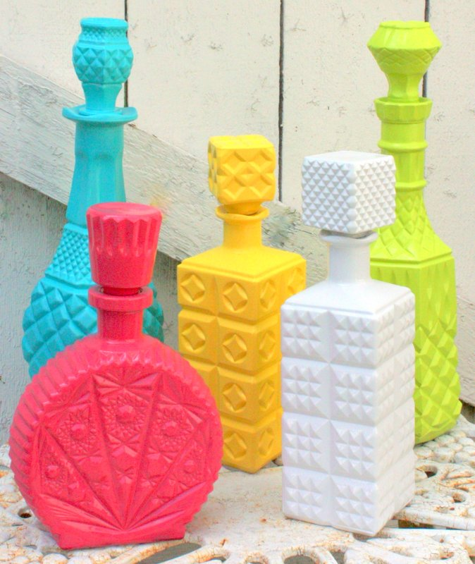 how to make spray paint bottle at home