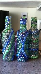 Glass bottle crafts ideas