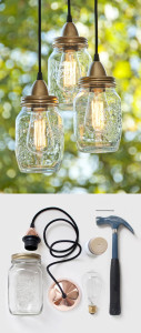 Glass bottle crafts projects
