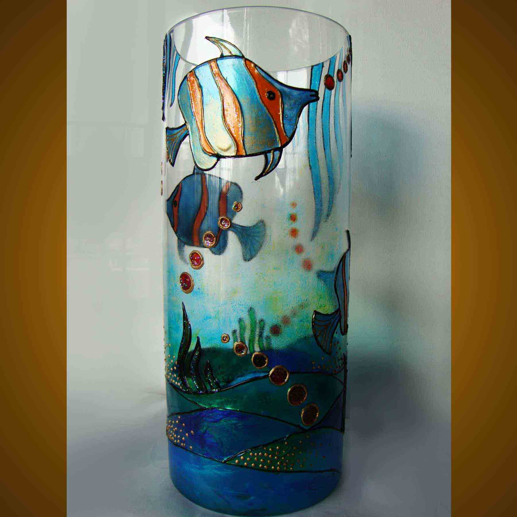 Diy glass painting patterns ideas - Designs in glasses for house decoration ...