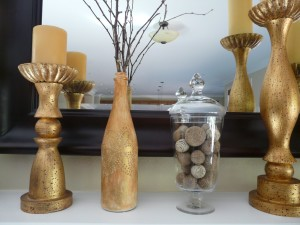 Golden DIy crafts ideas