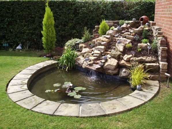 Small front garden ideas and arrangments for How to decorate a backyard