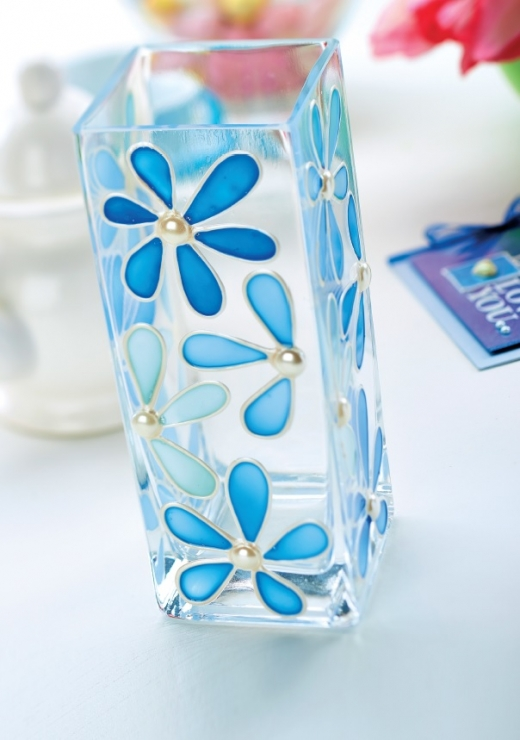Simple And Easy... Easy Flower Designs For Glass Painting