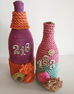 How to make glass bottle crafts