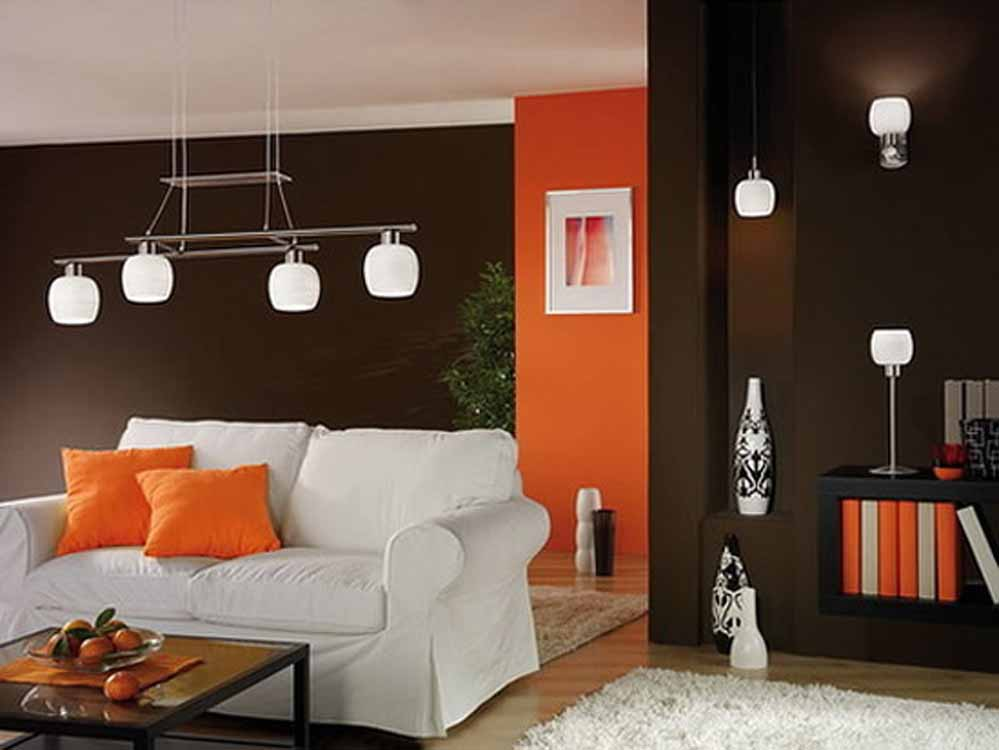 Modern apartment decoration