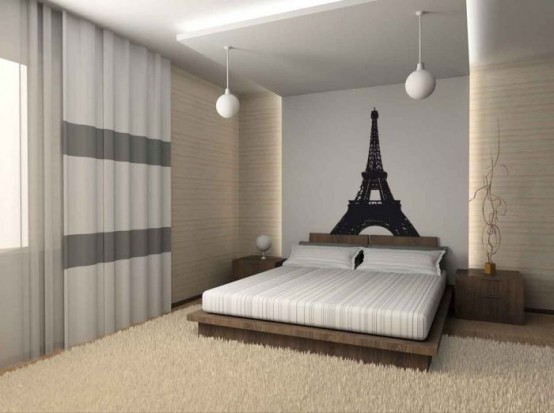 Modern French Room Decor