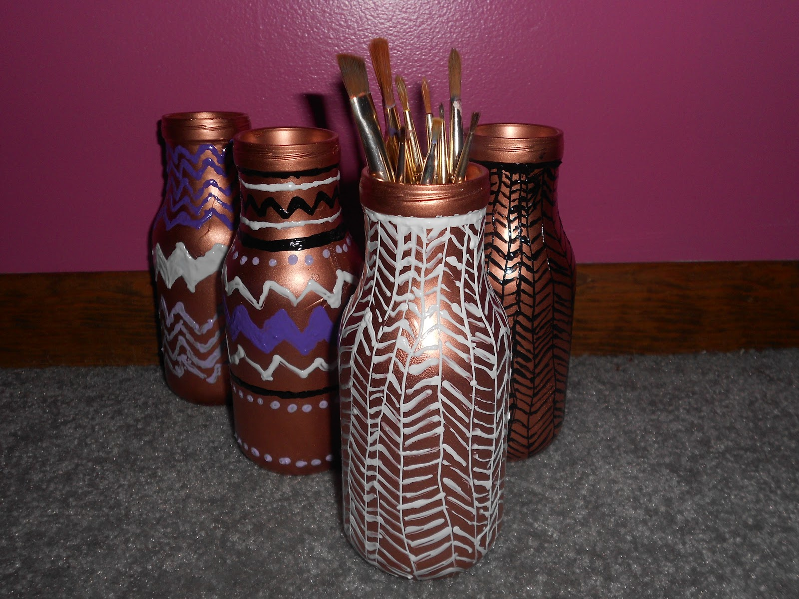 Diy glass bottle crafts ideas for Diy crafts with glass jars and bottles