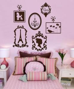 Parisian themed room decor