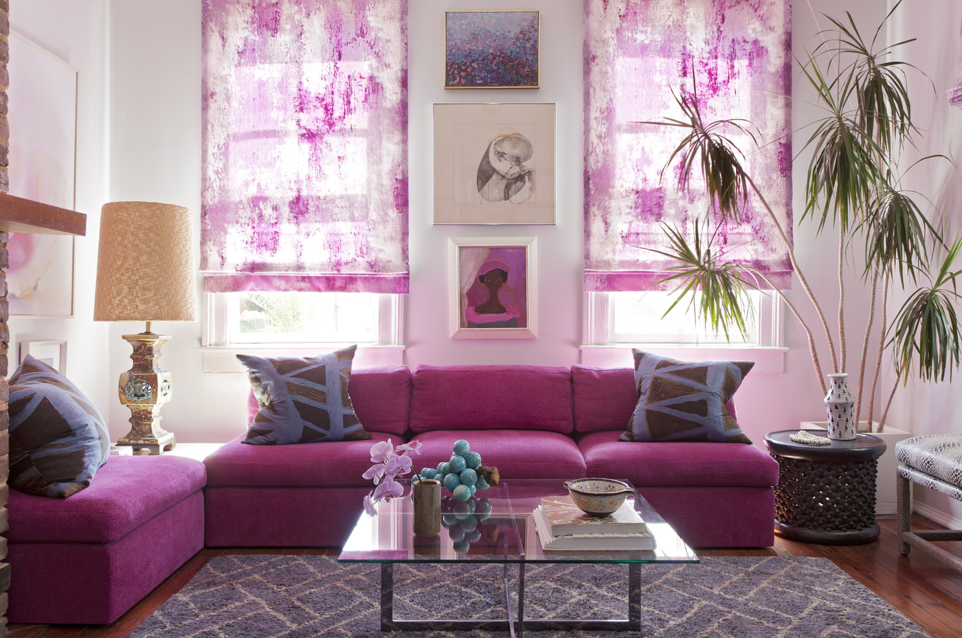 Living Room Decor Trends 2014 radiant orchid home decor ideas