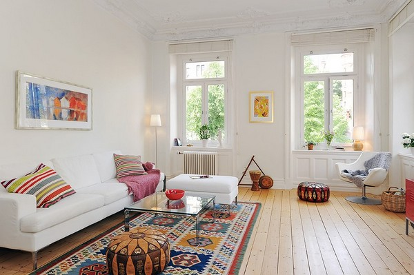 Apartment decorating ideas with low budget for Minimalist living room apartment