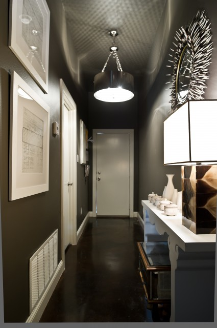 Dark Hallway Paint Color Ideas