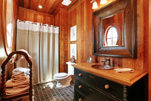Western country bathroom decor