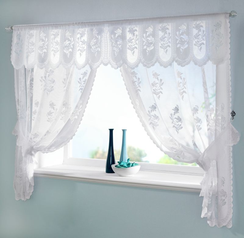 Modern bathroom window curtains ideas Bathroom valances for windows