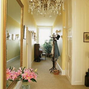 hallway ideas to decor with mirrors
