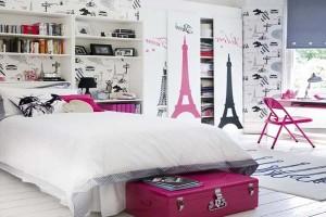 modern paris room decoration
