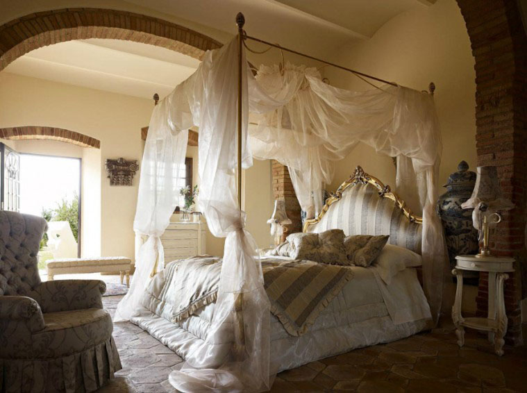 Cool bed canopy ideas for modern bedroom decor for Bedroom curtains designs