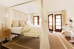 Bed canopy frames
