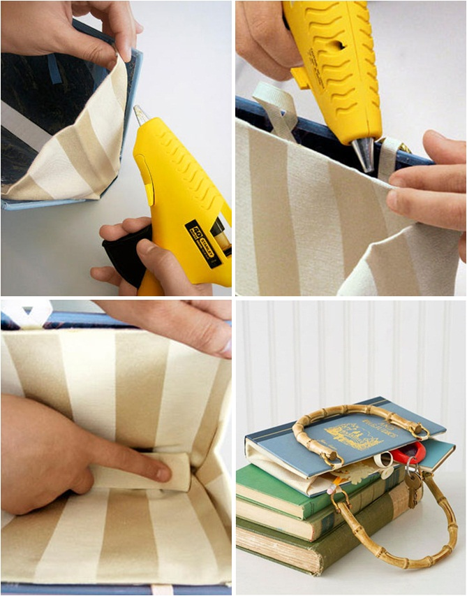 Paper Bag Book Cover With Handles : Diy gift ideas tutorial to make at home