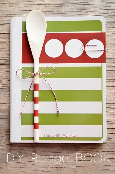 Diy Recipe Book Cover ~ Diy gift ideas tutorial to make at home