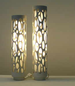DIY lamps with PVC