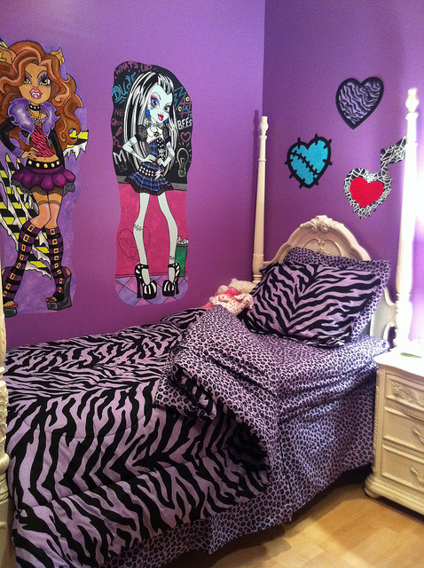 Monster High Room Decor Ideas For Kids Room