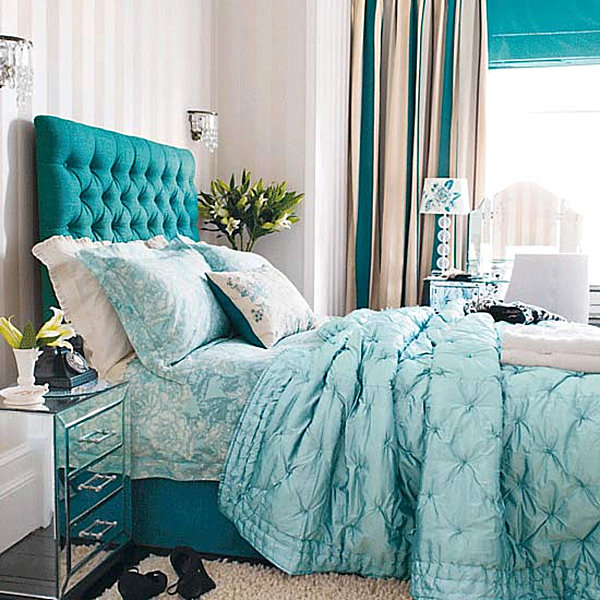 teal bedroom decor cool teal home decor for and summer 13475
