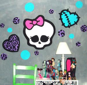 Monster high themed room
