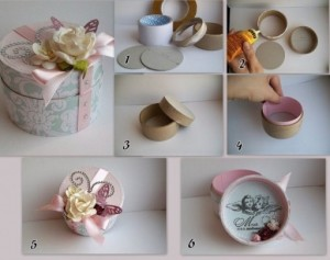 Round gift boxes Ideas