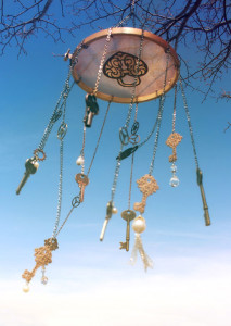 Simple diy wind chimes