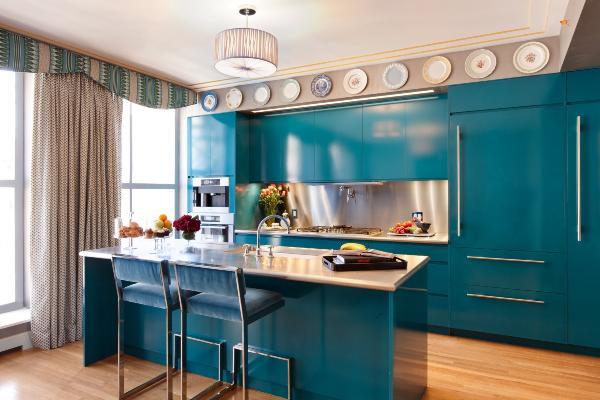 Teal Kitchen Decor