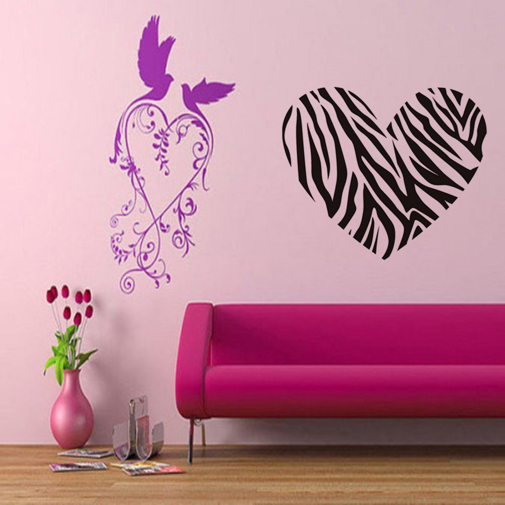 Zebra print crafts ideas for Decoration zebre