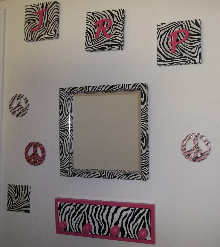 Zebra print wall decor for modern homes Images of wall decoration