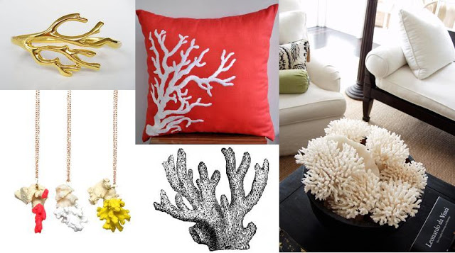 diy coral home decor project ideas