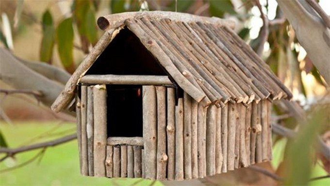 Diy decorative birdhouses ideas for How to make homemade bird houses