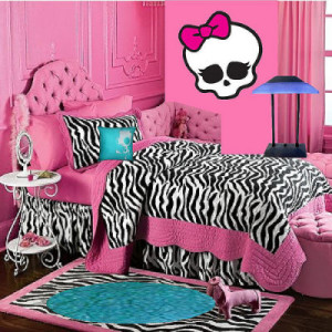 room decor with monster high