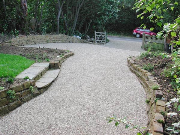 Garden Design Ideas For Driveways : Easy driveway landscaping ideas