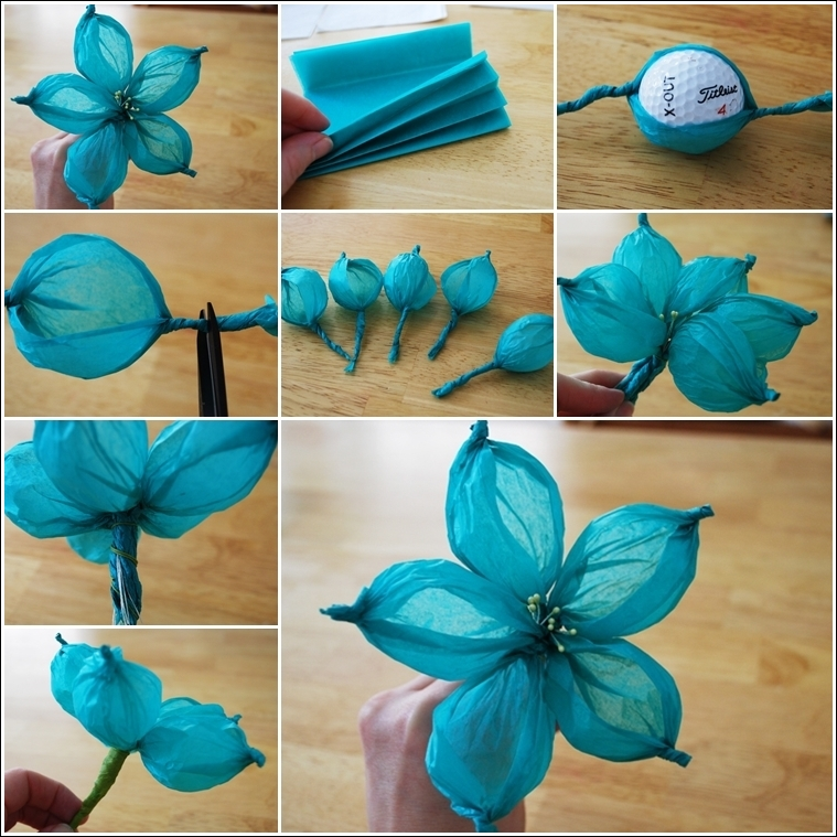 Diy paper flower tutorial step by step instructions for Paper decorations diy