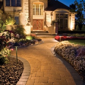 Driveway landscaping designs